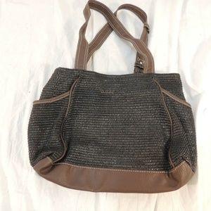 Handbags - Woven Style Handbag/Purse 100% Polyester 50350